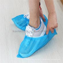 Plastique jetable PP / PE / CPE sur la couverture de chaussure