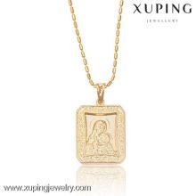 32135-Xuping joyería moda 18 K oro colgante plateado
