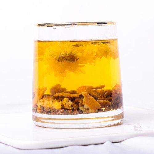 Natural herbal tea Cassia Hawthorn tangerine peel tea