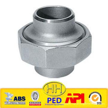 ANSI B31.1 aço inoxidável 316 união tomada