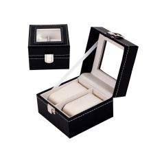 Luxury Watch Box PU Leather Watch Packaging Box