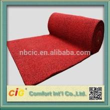 Auto alfombra de felpa/raya