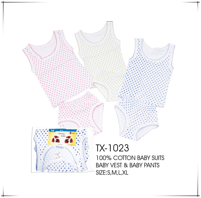 cheap price baby vest and baby pants