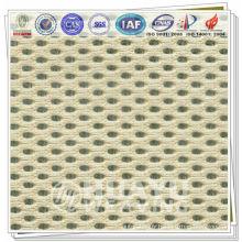 YD-1005, tissu polyester en polyester 3D pour chaussures de course