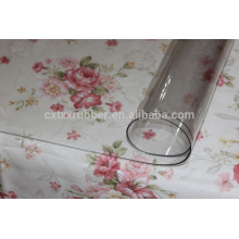 thick plastic roll table cover, plastic table protection mat
