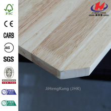 2440 mm x 1220 mm x 10 mm High Quality Custom Cabinet Thailand Yellow Pine Finger Joint Panel    Quality Assured
