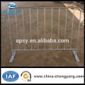 Wholsale-Metall galvanisierte oder pulverisierte modulare Massenkontrollbarriere Fußgängerbarrikaden
