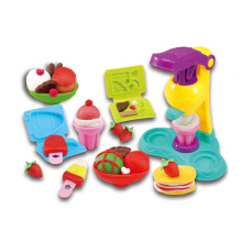 Novelty Kids Non-Dry Play Dough Set Ice Cream Maker Tool Toy (10212854)