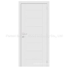 Hot Sale Modern White Wooden Flush Panel Door
