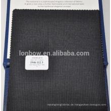Einfarbig gewebter 100% W Merinowolle Anzugstoff für Männer