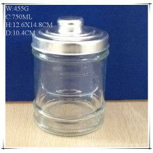 750ml Glass Canisters for Coffee Sugar with Al Lids