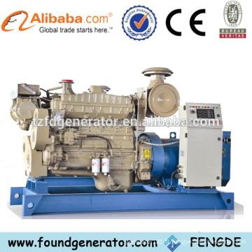 Fabricant en Chine Meilleur prix générateur électrique de 100 kw avec CE