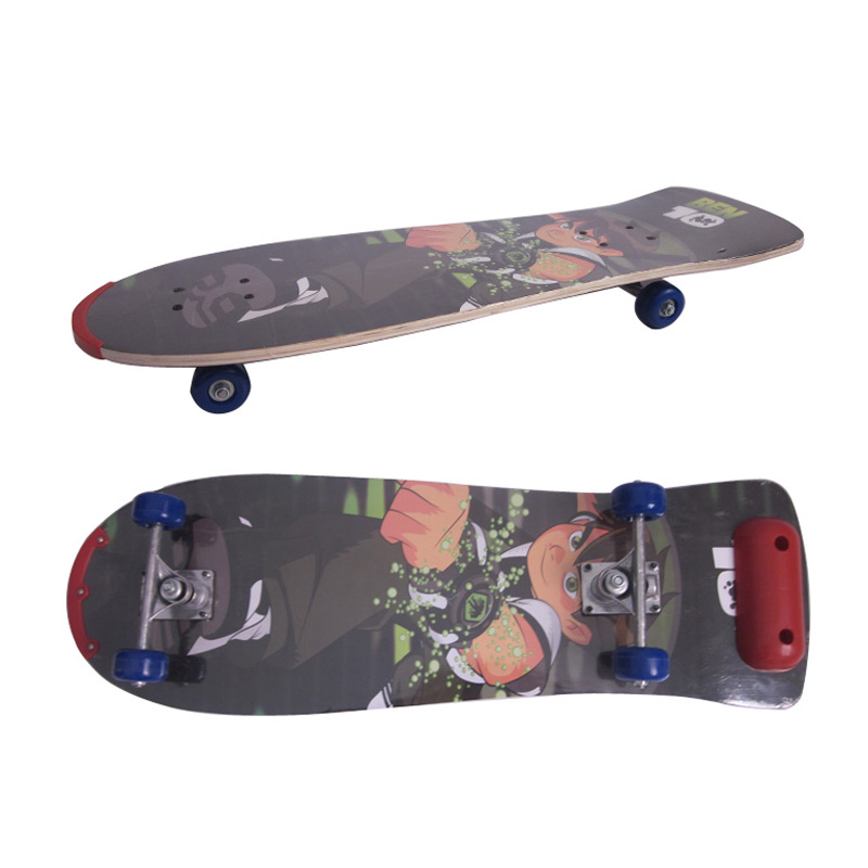 Big Head Kick Running Complete Skate Board