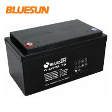 Batería de plomo de ciclo profundo 12v 80ah para el sistema de red
