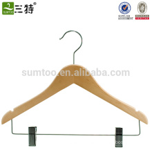 Multifunction Shirt Hangers with Clips
