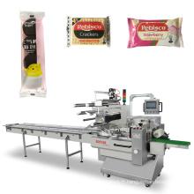 Machine à emballer automatique à grande vitesse de gaufrette de biscuit de biscuit
