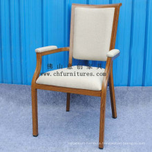 Arm Dining Imitation Wooden Chair (YC-E65-03)