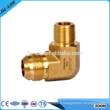 Water forged brass compression fittings