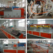 PE / PVC Holz Kunststoff Extruder Maschine mit CE und ISO