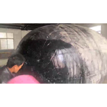 ISO17357 Anti-collision Pneumatic Rubber Fender on Vessel Marine Fender with Tyre
