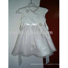 2011 пользовательских оптовой девушки цветка платье AN1238