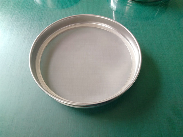 height 25mm sieve