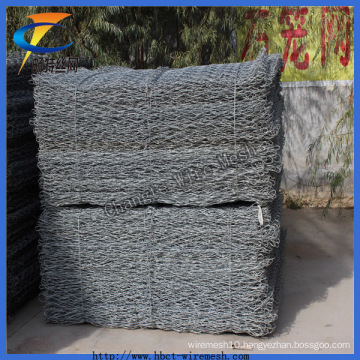 Bwg22 Hot Dipped Galvanized Gabion Wire Mesh