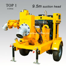 Movable Diesel Engine Dry-Priming Water Pumps for Emergency