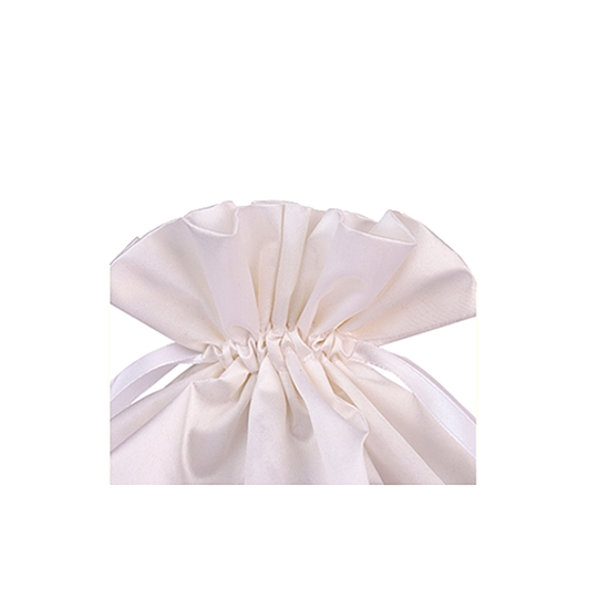 pure color satin packaging pouch/bag for hair
