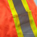 Chaleco reflectante de seguridad de malla con cinta reflectante de reflexión