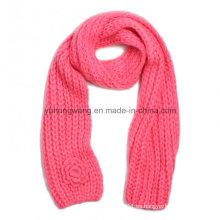 Bufandas de ganchillo hechas a mano al por mayor del ganchillo, bufanda