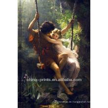 Romantisches Bild Ölgemälde auf Leinwand für Dekor