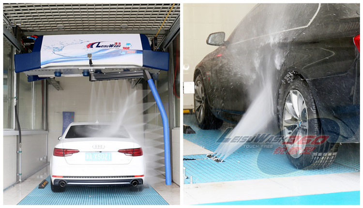 leisuwash 360 mini touchless car wash equipment