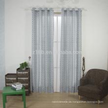 2016 neue Ankunft gekrümmte Form 100% Polyester-Leinen wie Jacquardwebstuhl-Fenster-Vorhanggewebe