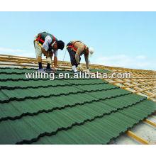 stone coated roof tile sheet