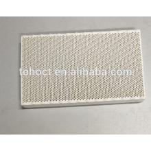 129x72x13.8mm infrarouge céramique nid d'abeille en céramique plaque céramique disque substrat