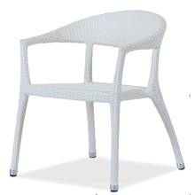 PE Rattan Outdoor High Back Chair