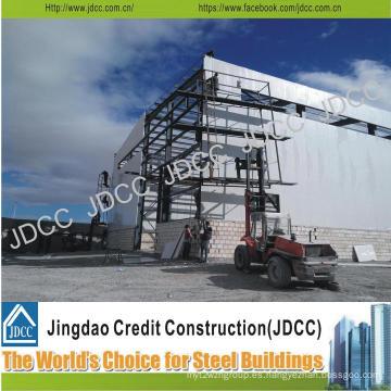 Construcción de estructuras prefabricadas de acero