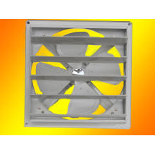 Ventilador / ventilador de metal con obturador / CB estándar