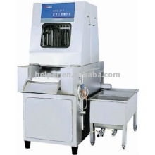 Brine injector for meat processing machine