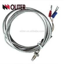 продетый нитку Тип тепловое сопротивление высокая производительность маршрутизатор rtd wzp датчик температуры Pt100