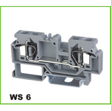 6mm2 Din-Rail Federklemmenblock