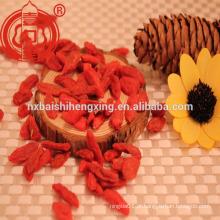 Bagas de Goji secas 380 grãos / 50G Ningxia Goji berry secas Frutas secas de wolfberry Nutriton