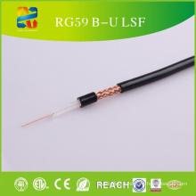 RoHS approuvé, câble coaxial couleur Rg59 B / U de 100 m