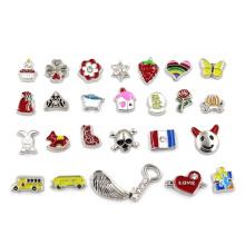 Custom Fashion Jewelry Floating Locket Charms