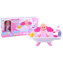 12 Inch Plastic Lovely Baby Doll with Bath Tub (10233075)