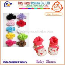 Dernier bandeau de mode et Chaussettes de chaussures pour bébés