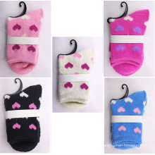 Winter Thick Floor Heart Socks (WA807)
