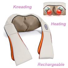 Massager de amasso do corpo do xaile da massagem do ombro do aquecimento recarregável