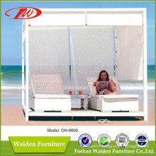 Rattan Beach Sun Bed Sun Lounger (DH-8606)